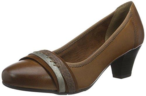 Jana-hnedé pohodlné dámske kožené topánky - Obuv Carmen 5c22d52429f