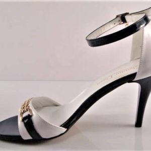 c7bc2c7d98 Kožené modro-biele sandálky zn.Claudio Dessi - Obuv Carmen