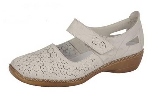 Pohodlné dámske slonovinové topánky zn. Rieker - Obuv Carmen 9fa85b06124