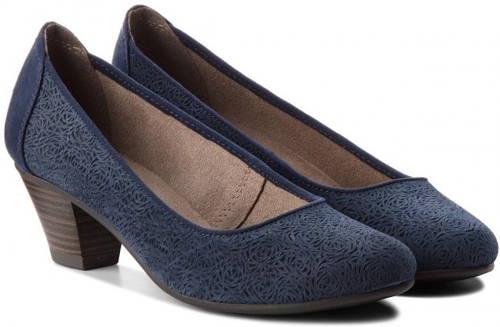 Pohodlné vychádzkové modré topánky zn. Jana - Obuv carmen 7db0577302d