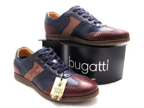71709a959 Modro-hnedé pánske športové topánky zn.Bugatti - Obuv Carmen