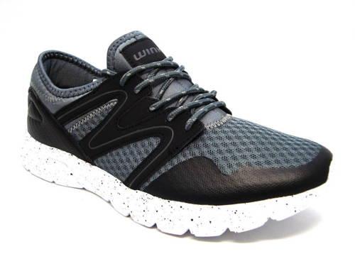 fd849888cd Pánske športové botasky čierno - sivé zn. Wink - Obuv Carmen
