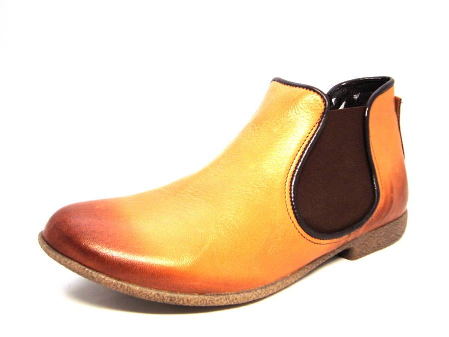 22f2d19994f0 Štýlové dámske kožené topánky zn. Kampa