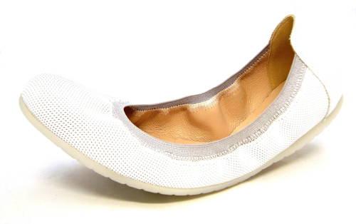 ad42379489d8 Komfortné biele kožené balerínky zn.Embis - Obuv Carmen