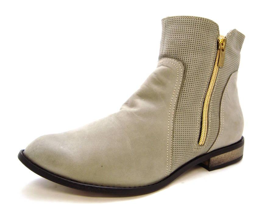 Dámske kožené kotníkové topánky zn. Claudia c08b23c03df