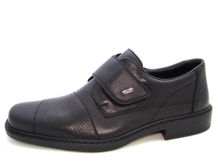 59e9a0e2f Klasické pohodlné kožené topánky na suchý zips zn. Rieker - Obuv Carmen