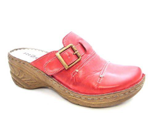 f100cac13063 Rizzoli - talianske červené kožené vsuvky - Obuv Carmen