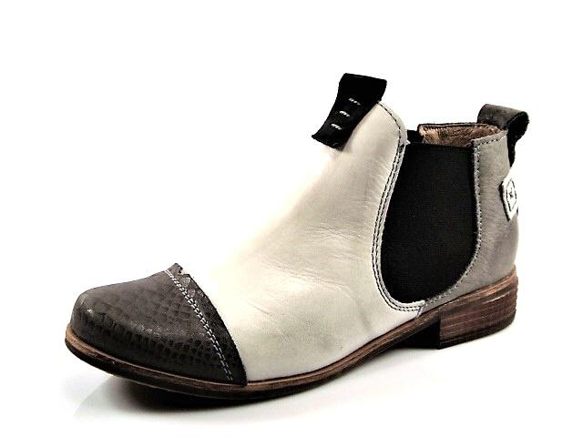 Pohodlné dámske sivé kotníkové topánky - Obuv Carmen 4137ffee994