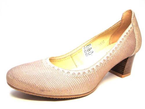 07bafb7fe9 Kožené topánky na nízkom podpätku zn.Kordel - Obuv Carmen