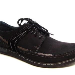 aa7c199f0db4 Klasické čierne športovo-elegantné pánske šnurovacie topánky - Obuv ...