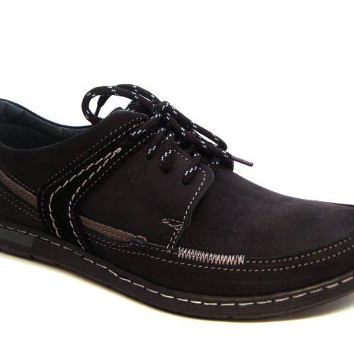 e0e4a27dd224 Klasické čierne športovo-elegantné pánske šnurovacie topánky
