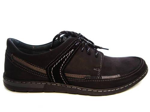 Klasické čierne športovo-elegantné pánske šnurovacie topánky - Obuv ... a3b362d94aa