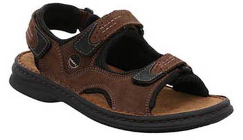 d8a9a05a31a3 Hnedé kožené otvorené sandále zn. Josef Seibel