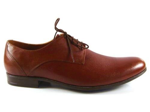 ec028594ba59 Pánske muškátovo hnedé kožené spoločenské topánky-Obuv Carmen