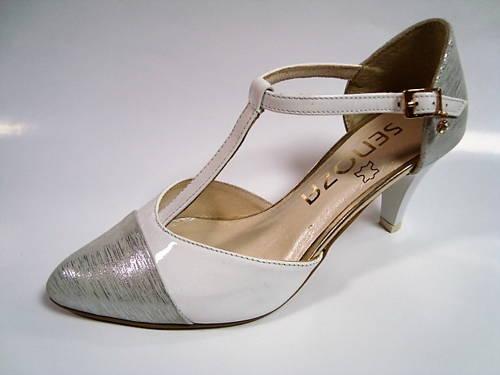 6bcd26f38535 Luxusné kožené sandálky v dvoch farbách - Obuv Carmen