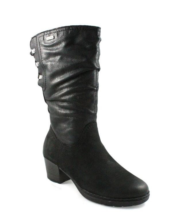 JANA - dámske kožené čižmy so šnurovačkou - Obuv Carmen 50b8acaa1eb