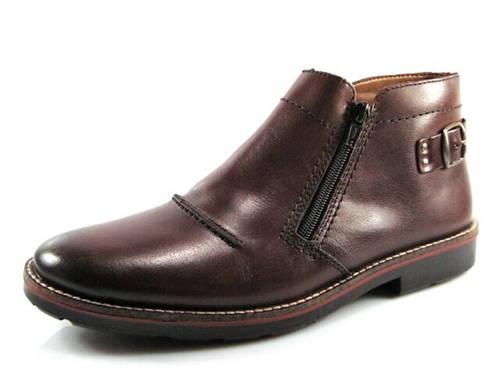 1122f4c276dc Rieker-tmavohnedá členková zateplená obuv - Obuv Carmen