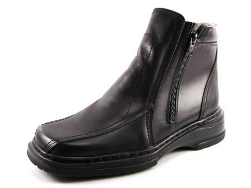2e668080168d Rieker-čierna kožená pohodlná zateplená obuv - Obuv Carmen