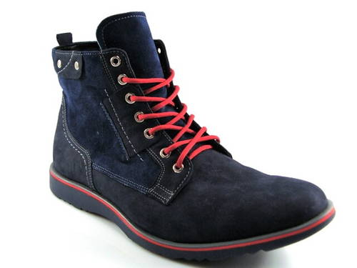 fb50e775dc500 Rammit-modrá športová pánska zateplená obuv - Obuv Carmen