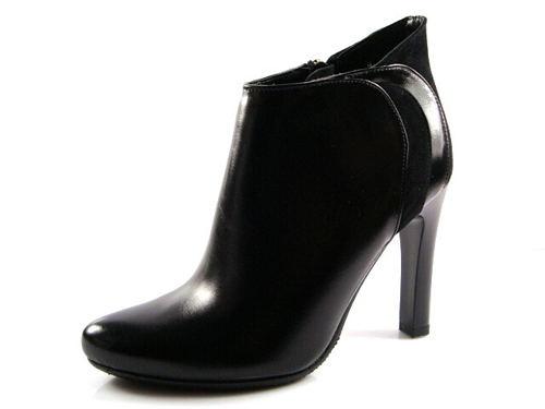 632745ffd5 Visconi-elegantné vysoké čierne kotníky