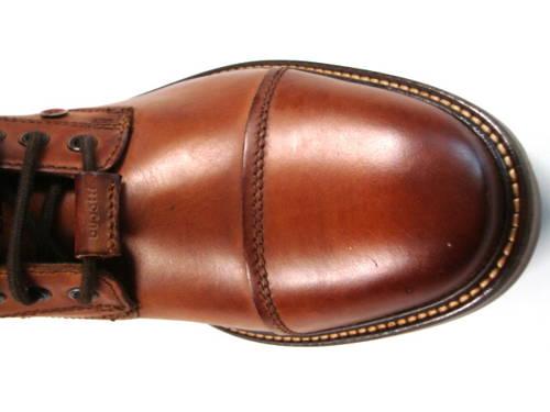 Bugatti-hnedé cognac  šnurovacie kotníkové čižmy-Obuv Carmen 4337421e330
