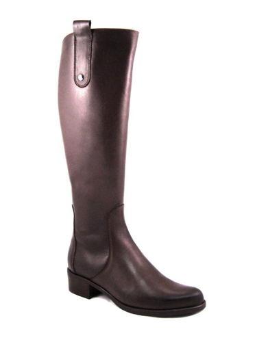 3c793f9f3d ACORD-čokoládovo hnedé čižmy na nízkom podpätku - Obuv Carmen