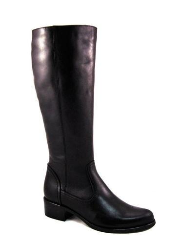 ACORD-čierne kožené čižmy s XL-sárou - Obuv Carmen 8f4bb659d30