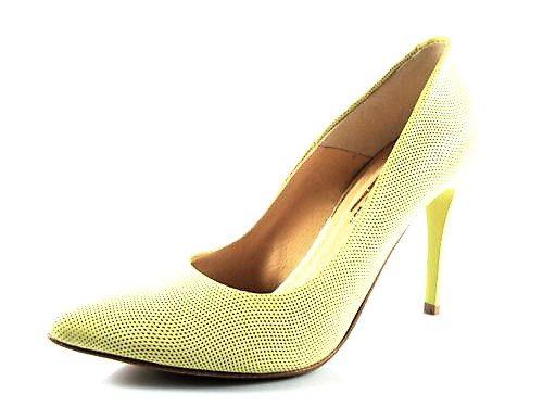 5d9860fc6971 Štýlové žlté kožené šnurovacie topánky zn.Robson - Obuv Carmen