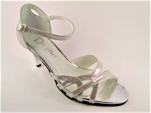 63761d56268f Dámske tanečné sandálky na nízkom podpätku - Obuv Carmen