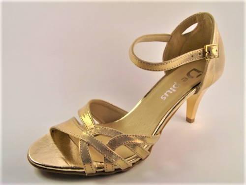 8387b406e6 Dámske tanečné sandálky na nízkom podpätku - Obuv Carmen