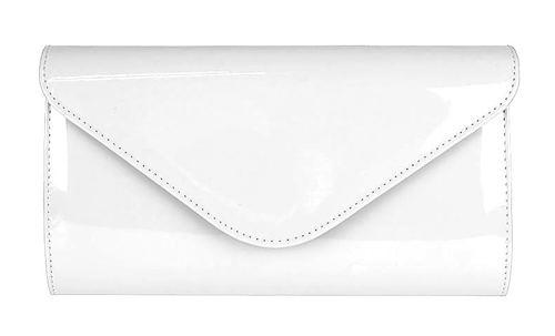 c6ee507377 Biela elegantná spoločenská kabelka-Obuv Carmen