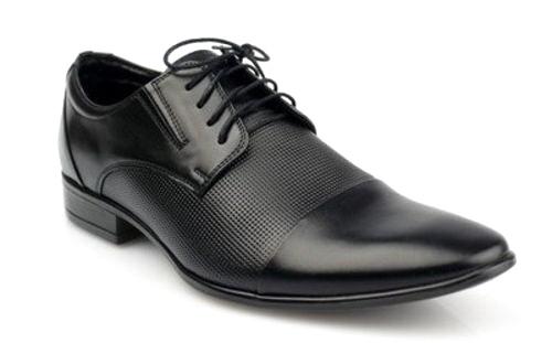 66a644eb42f2 Pánske čierne spoločenské kožené topánky zn. Lavaggio-Obuv Carmen