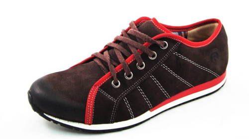 97f1f8e694b03 FOX-hnedé zateplené pánske kožené topánky - Obuv Carmen