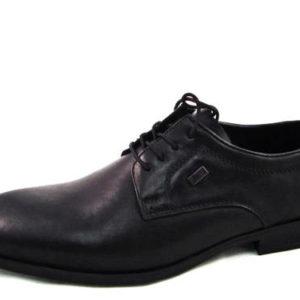1d13c95d31 Vychádzkové pánske čierne kožené topánky zn. RIEKER - Obuv Carmen