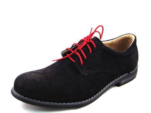8d3f3aa12bd4 Štýlové čierne šnurovacie dámske kožené topánky - Robson-Obuv Carmen