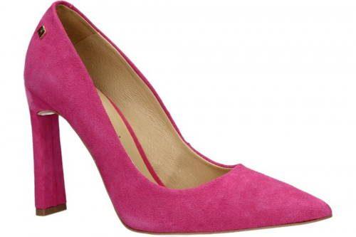 ef938f6afc96 Luxusné ružové lodičky na vysokom podpätku