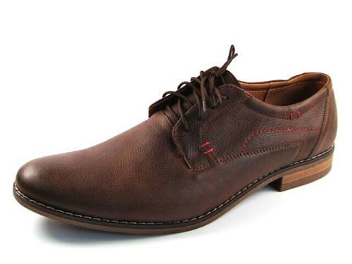 Hnedé kožené pánske topánky zn.Fabio - Obuv Carmen 08d0e4d7870