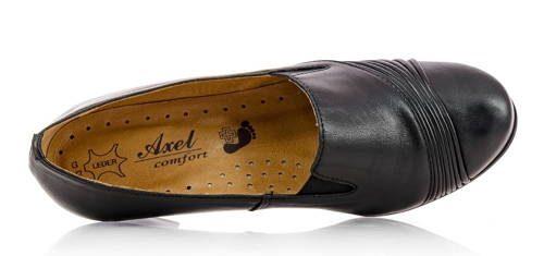 5024f5569611 AXEL-čierne zdravotné vychádzkové topánky