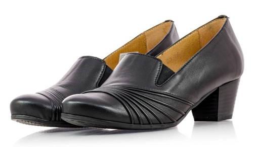 e0cafd227d0a AXEL-čierne zdravotné vychádzkové topánky-Obuv Carmen