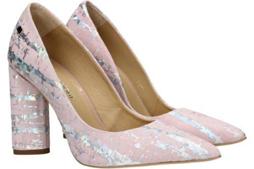 0a584ade069 Maccioni-luxusné ružovo strieborné kožené lodičky-Obuv Carmen