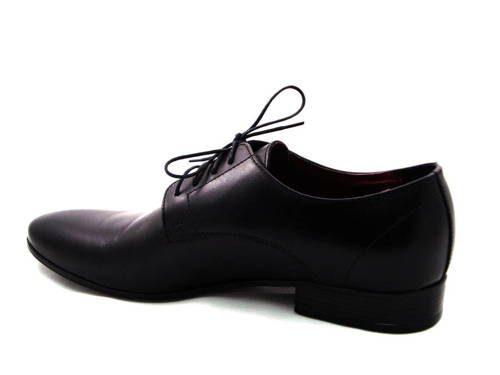 0a1e1de093b3 Pánske čierne matné spoločenské topánky - Obuv Carmen