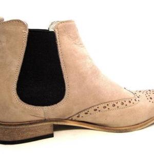 Štýlové dámske hnedé kotníkové topánky zn. Pollonus - Obuv Carmen 3e0ed266d43