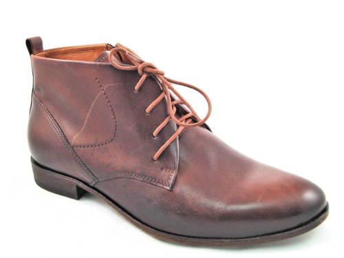 85aec85dd Elegantné pánske kožené hnedé kotníkové topánky-Obuv Carmen