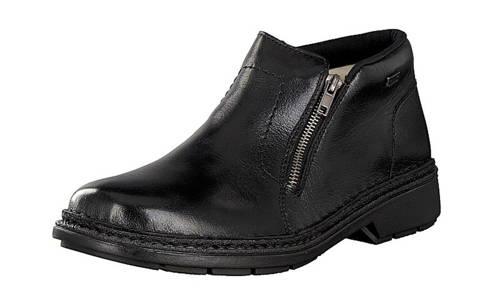 9689491939 Rieker-TEX pánska čierna kožená zateplená obuv-Obuv Carmen