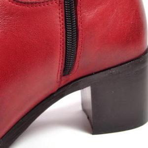 ACORD-červené kožené čižmy s XL-sárou-Obuv Carmen 36dc66ca6f3