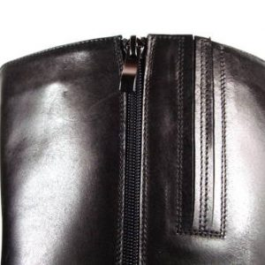 ACORD-čierne kožené čižmy s XL-sárou-Obuv Carmen 0c0cd13f86c