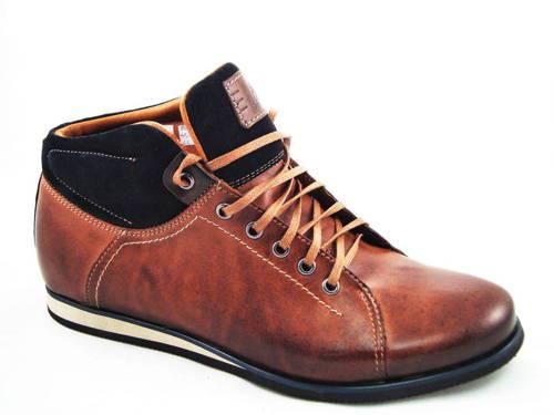 aedf42d1b Trendové pánske šnurovacie kožené topánky - Obuv Carmen