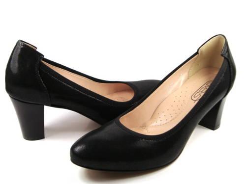 81c892a7ab Embis-čierne kožené vychádzkové topánky-Obuv Carmen