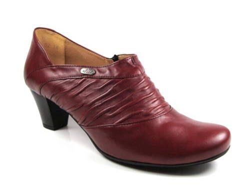 9605a49aafcf Axel-trendy jarné jesenné vínové dámske topánky-Obuv Carmen