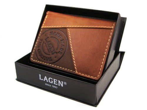 b77cabd8e LAGEN-pánska hnedá kožená peňaženka-Obuv Carmen